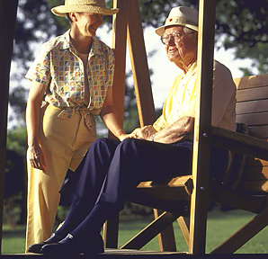 Peggy and Byron Nelson